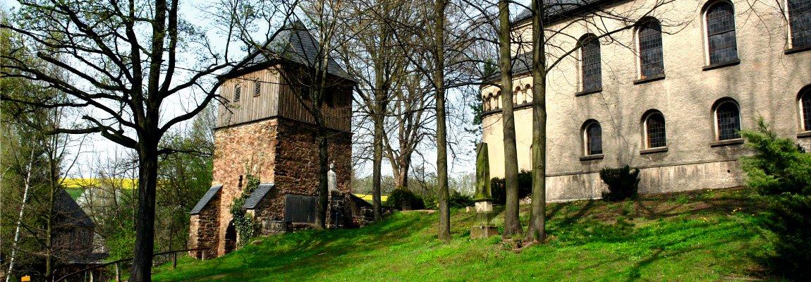 Der Alte Glockenturm in Lugau