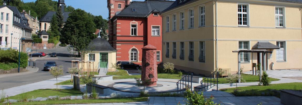 Rathaus Oelsnitz / Erzgebirge